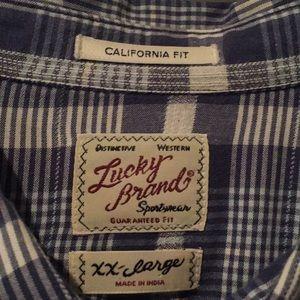 Lucky Brand Casual Button Down